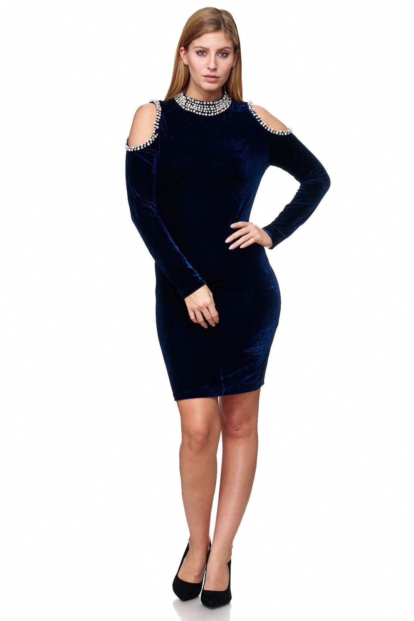little black dress met lange mouwen