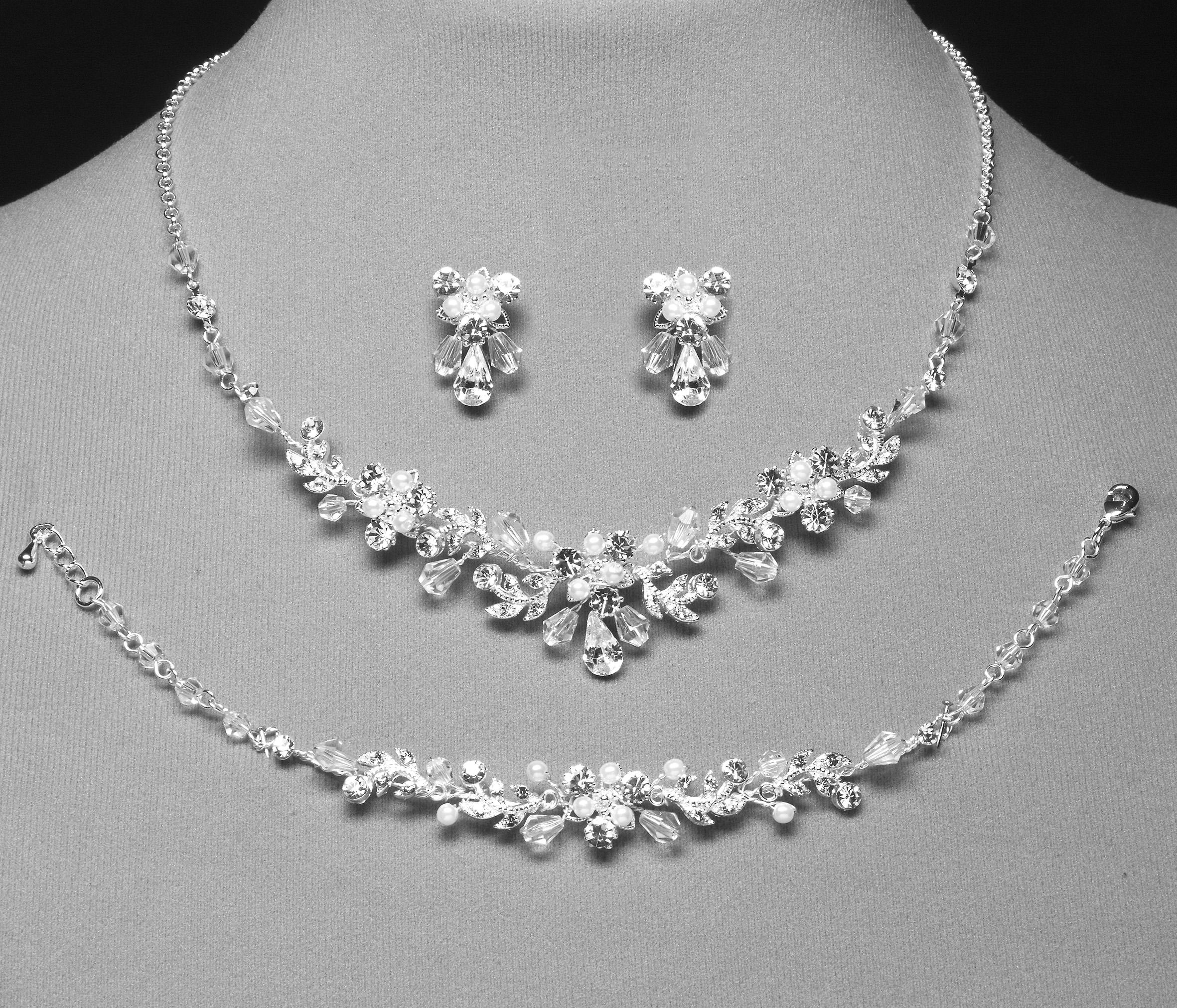 Wonderbaar Jewelery set online | Bridal accessory - 3 piece jewelry XI-85