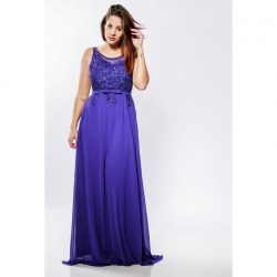 Long sheath gown