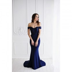 Trumpet maxi gown