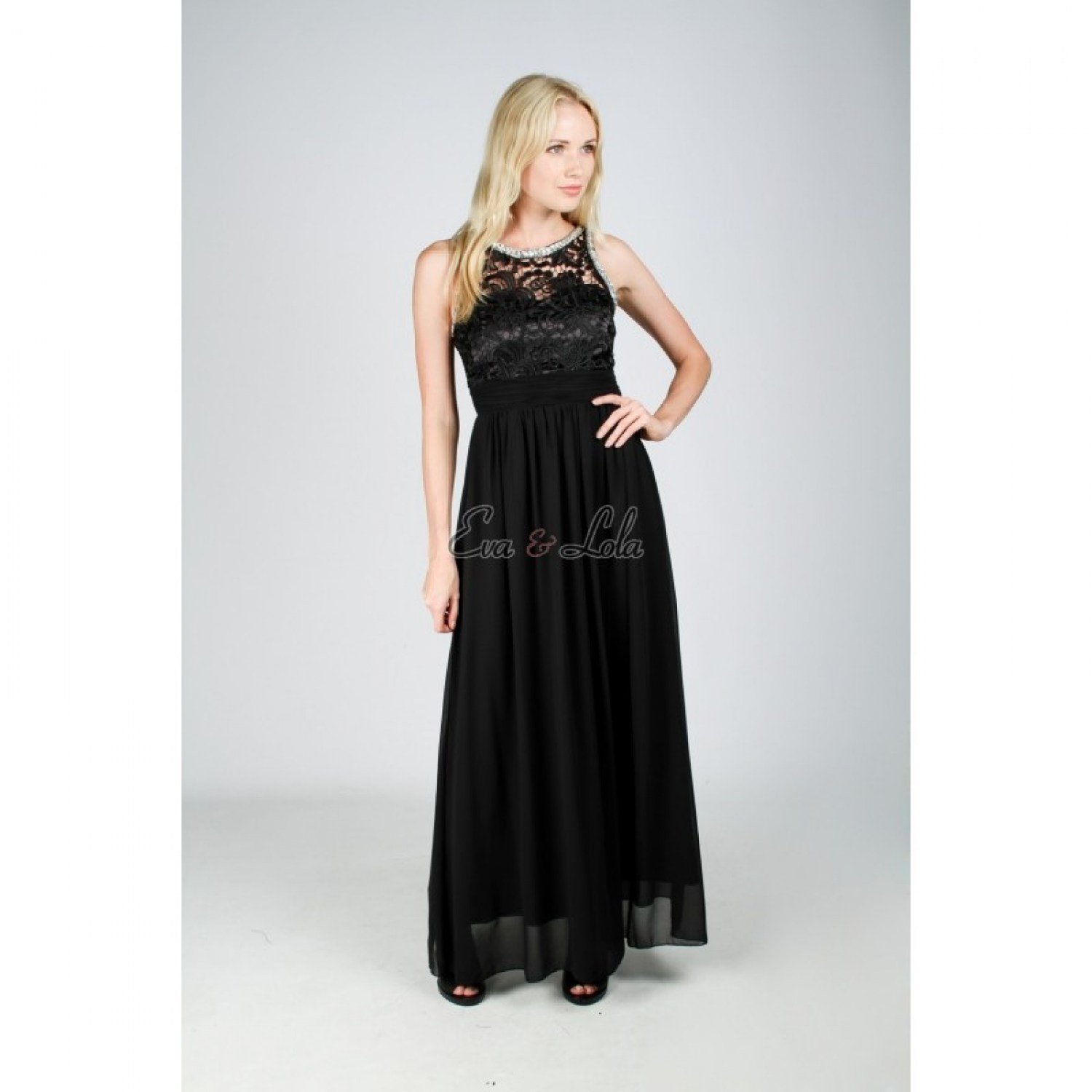 Maxi Chiffon Jurk.Dress Jennifer Floor Length Eva And Lola Dress Affordable Chiffon Dress