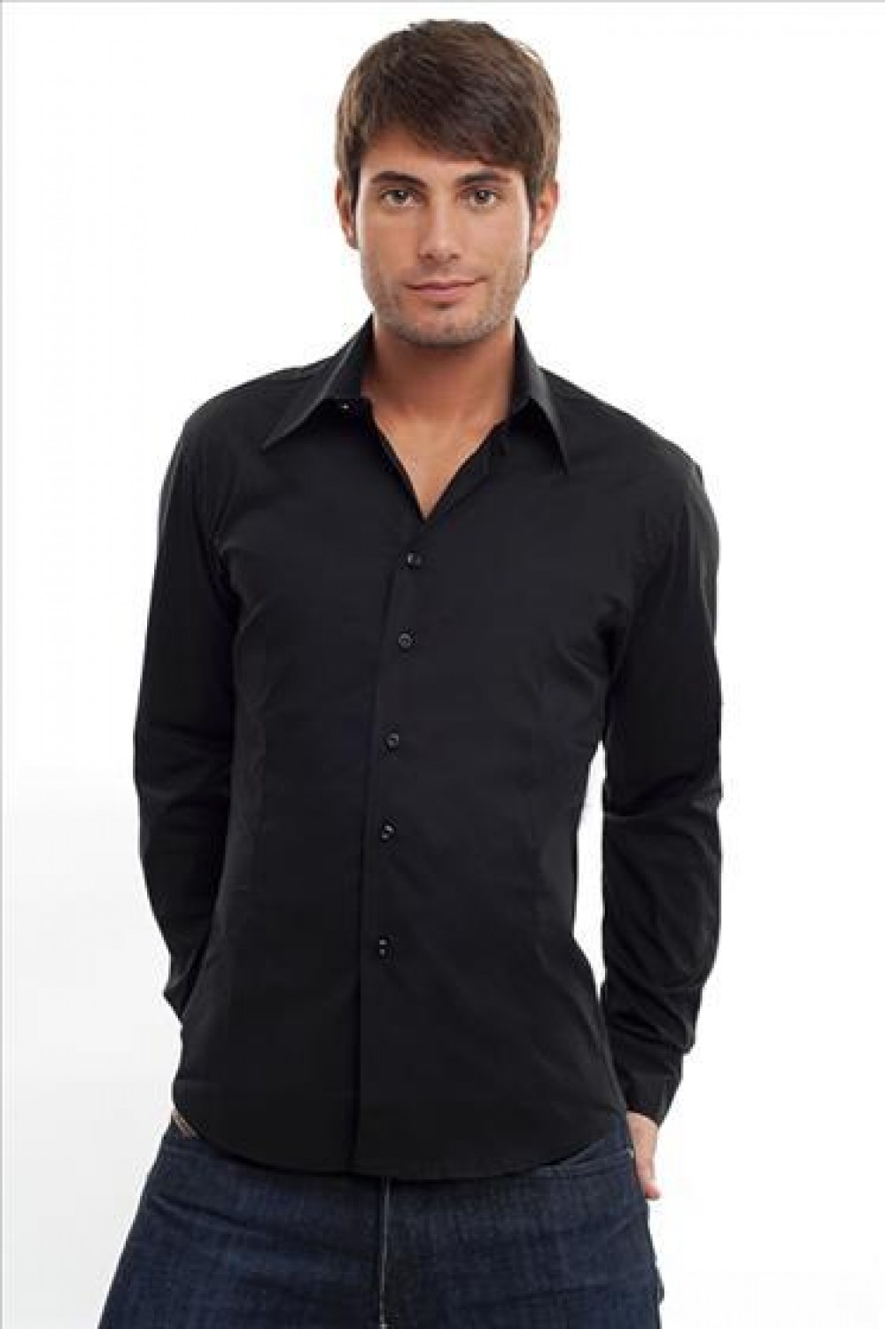 Man In Overhemd.Shirt For Men Perfect Fit Long Sleeves Shirt Cotton Shirt Online