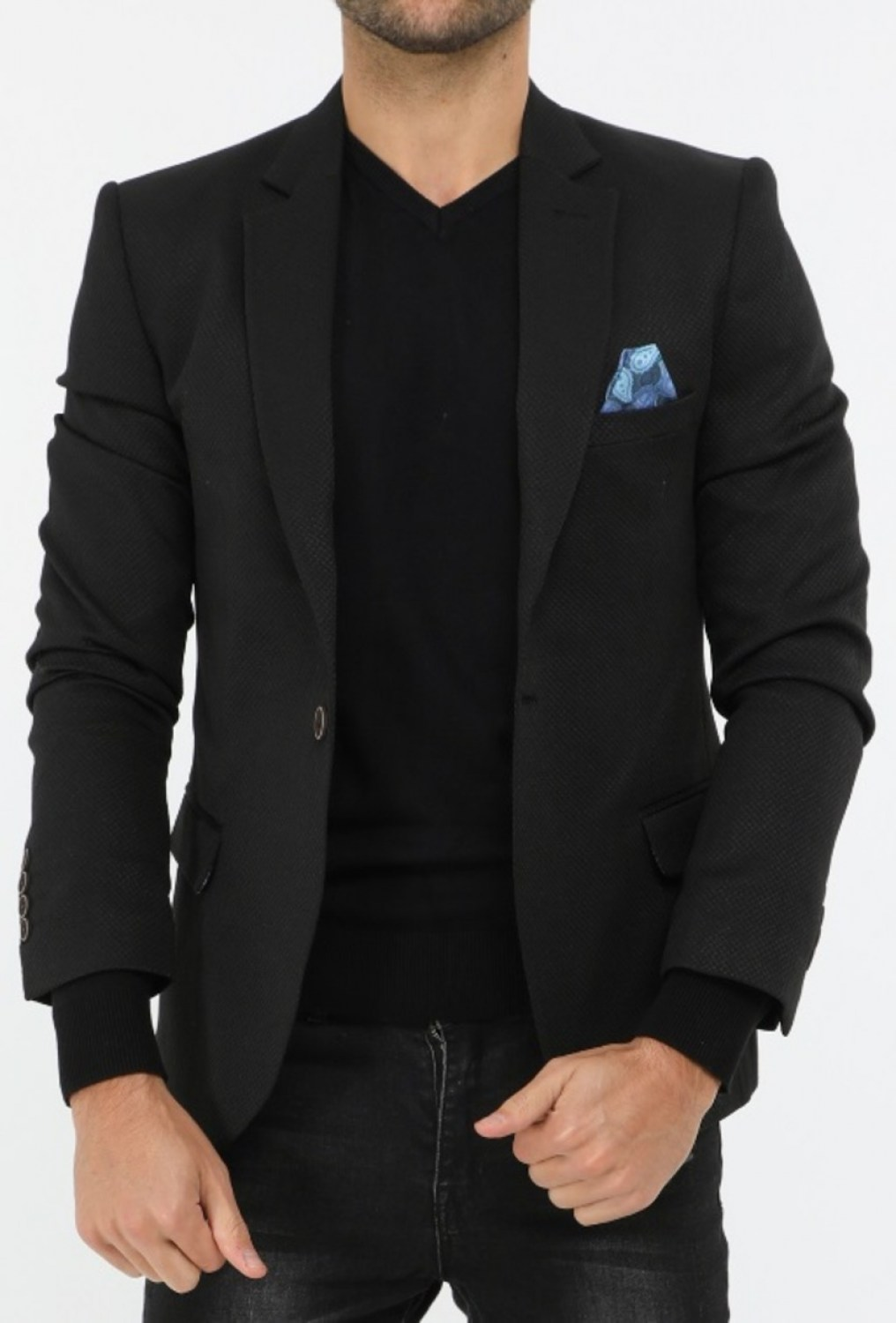 Form fit blazer